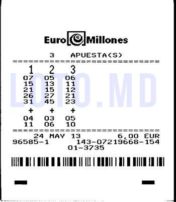 Bilet Euromillions