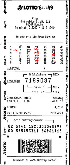 loto 6/49 germania