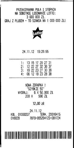Cum arata biletul loto polonia