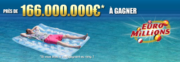 166 Millions at Euromillions